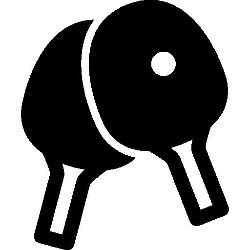탁구 라켓  무료 아이콘