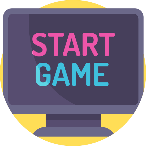 Computer game  free icon