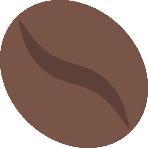 grain de café  Icône gratuit