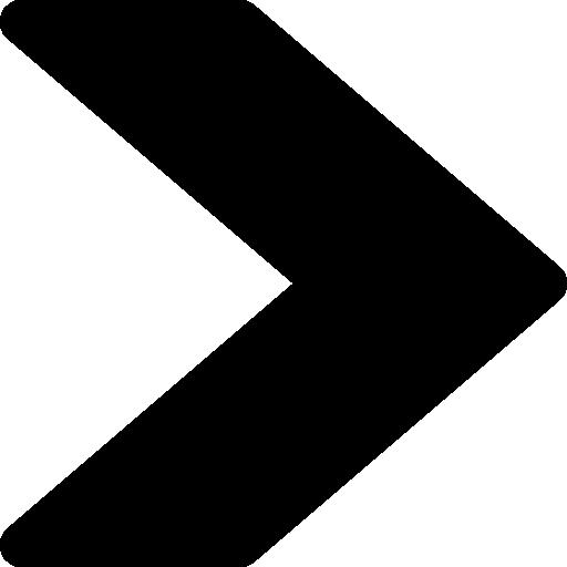Right chevron  free icon