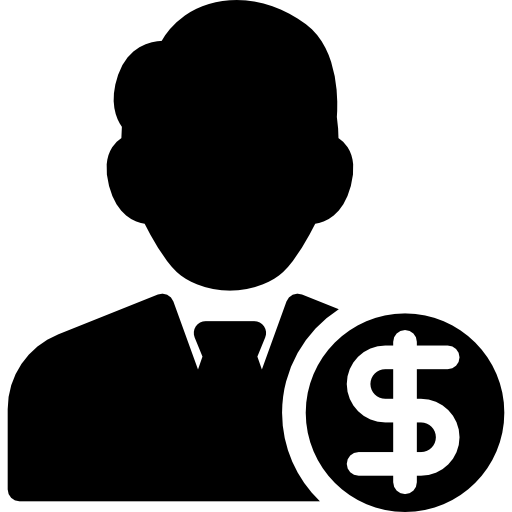 Менеджер по инвестициям  бесплатно иконка