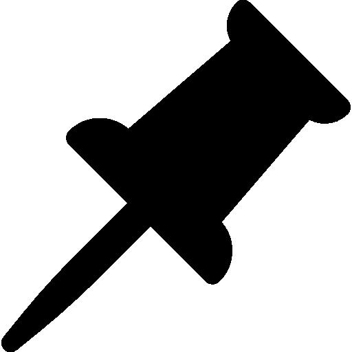 Канцелярская кнопка  бесплатно иконка