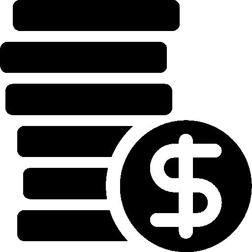 Денежные вложения  бесплатно иконка