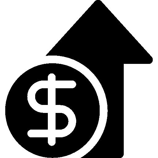 Экономический рост  бесплатно иконка