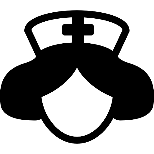 enfermera jefe  icono gratis