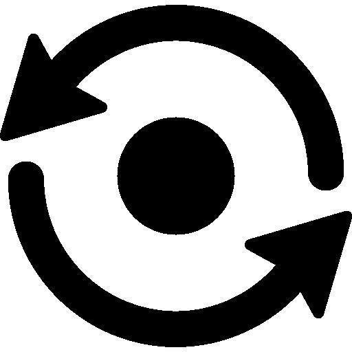 Sync Symbol  free icon