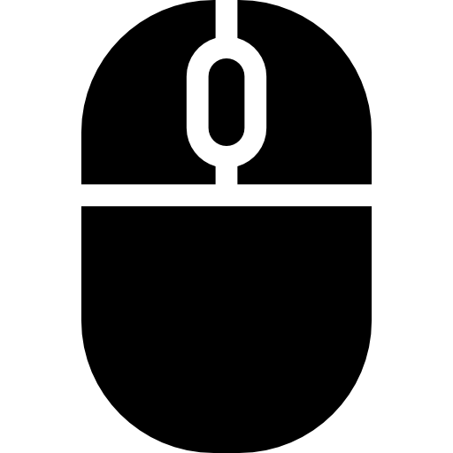 School Computer Mouse  free icon
