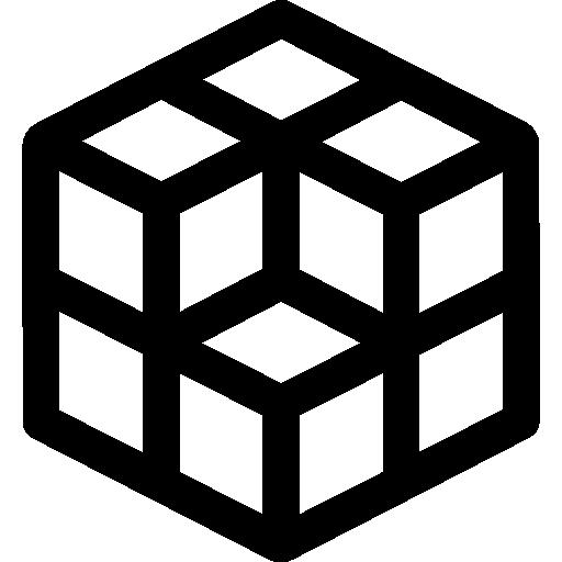 Cube Design  free icon