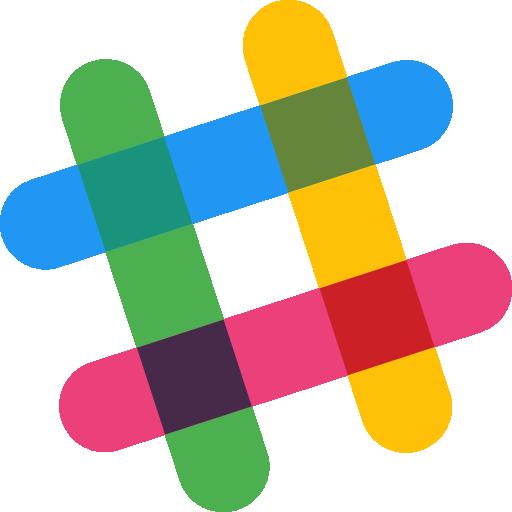 Slack  free icon