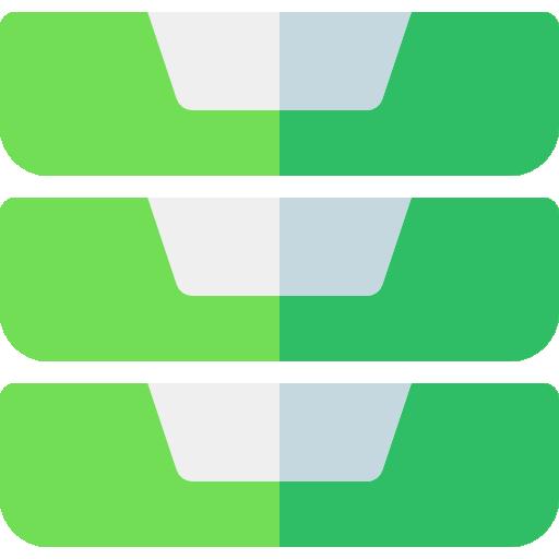 bandejas de entrada  icono gratis