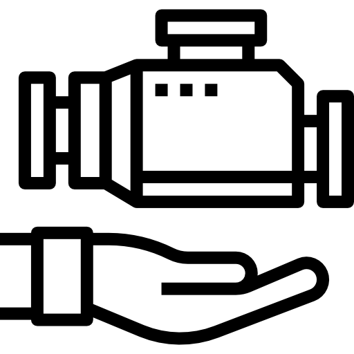motor  icono gratis