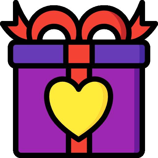 regalo  icono gratis