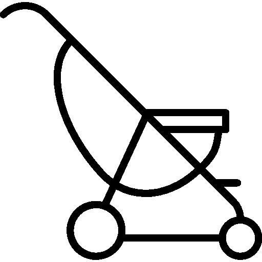 유모차 의자  무료 아이콘