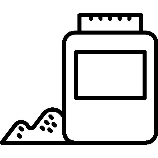 Powder bottle  free icon