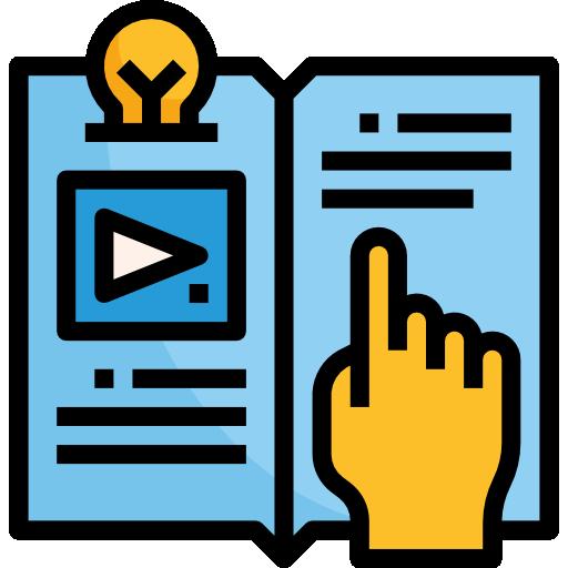 전자 책  무료 아이콘