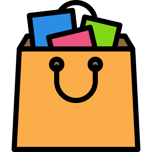 sac de courses  Icône gratuit