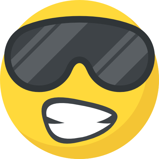 Cool  free icon