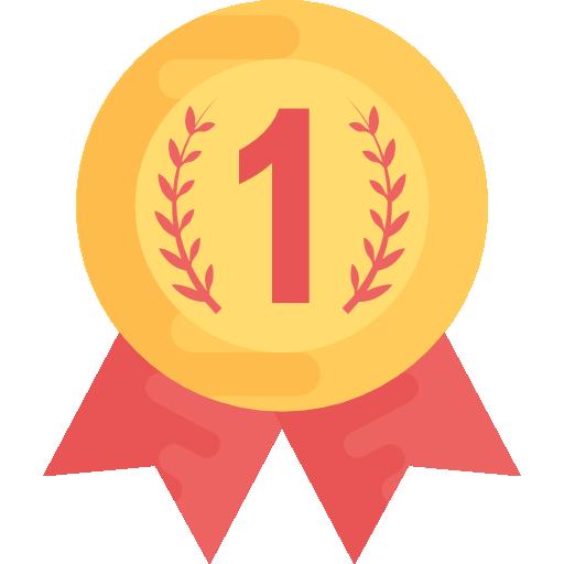 medalla de oro  icono gratis