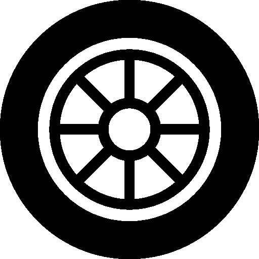 Car Wheel  free icon