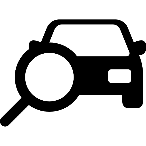Searching Car  free icon