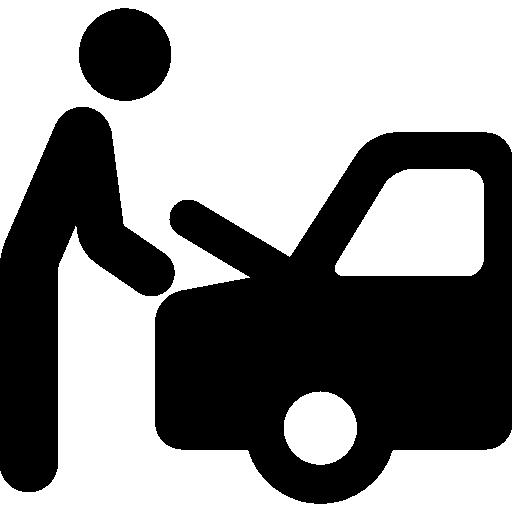 Repairing Car  free icon