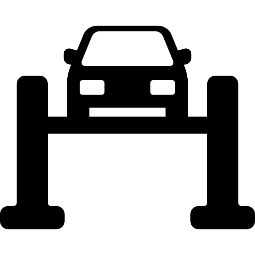 Car in Service  free icon