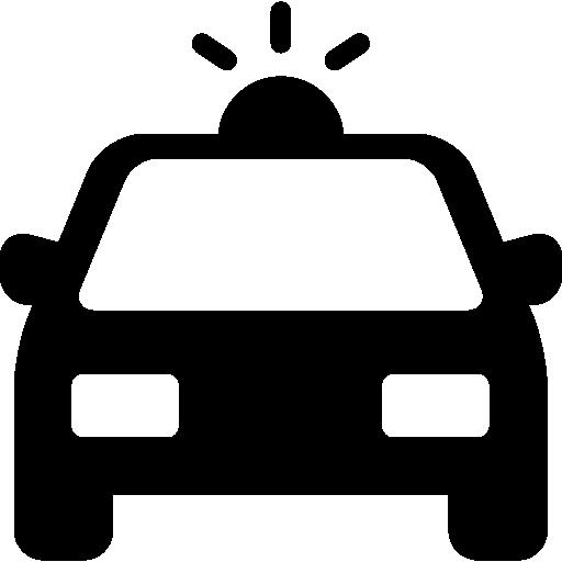Police Car  free icon