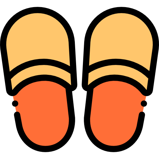Slippers  free icon