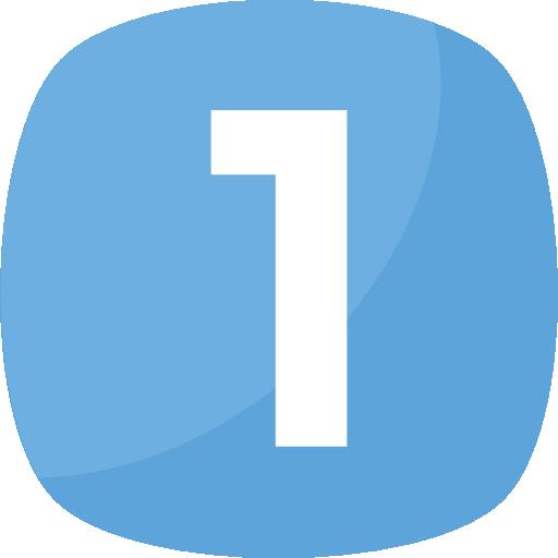 uno  icono gratis