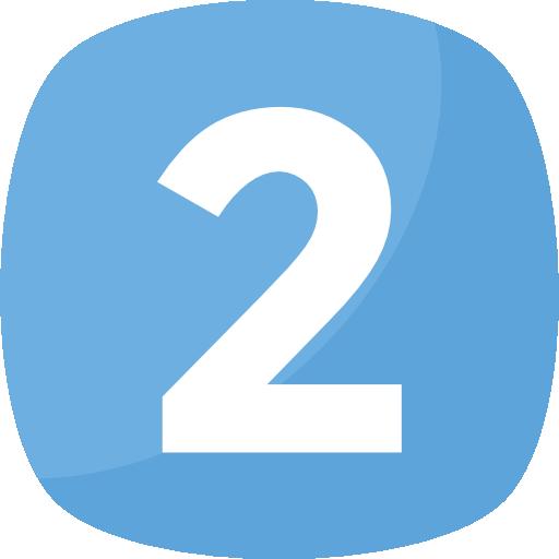 dos  icono gratis