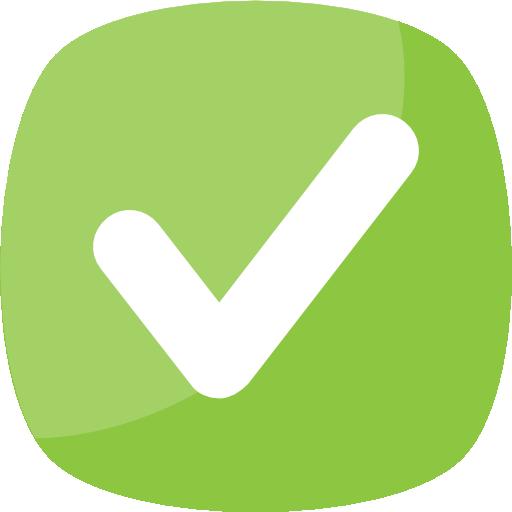 comprobado  icono gratis