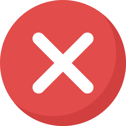 cancelar  icono gratis
