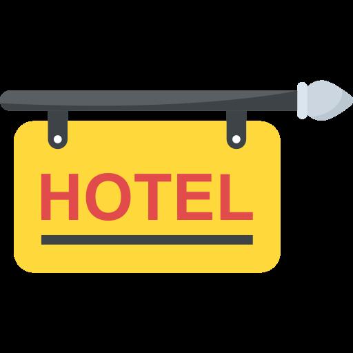 hôtel  Icône gratuit