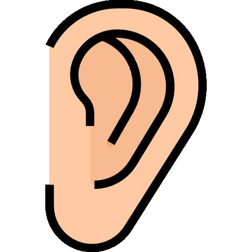 oreille  Icône gratuit