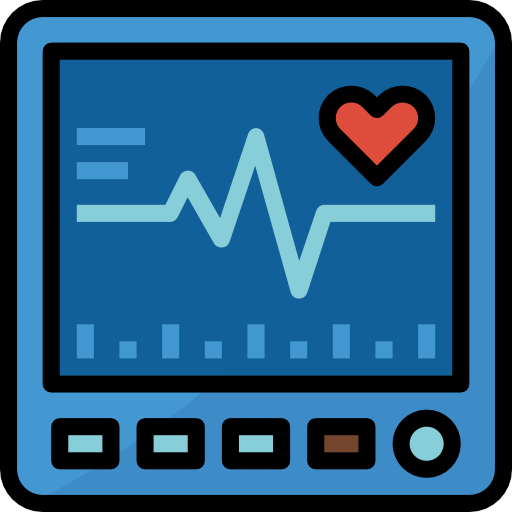 rythme cardiaque  Icône gratuit