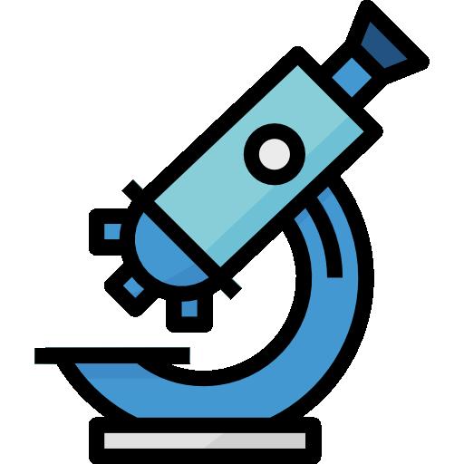 microscope  Icône gratuit