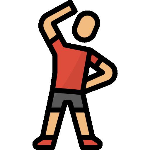 ejercicio  icono gratis