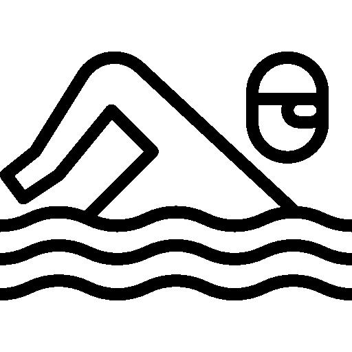 Пловец  бесплатно иконка