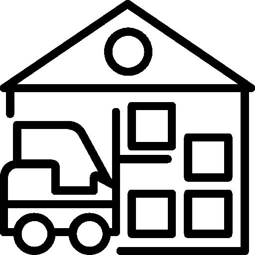 Warehouse  free icon