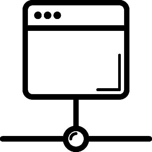 Браузер с подключением к Интернету  бесплатно иконка