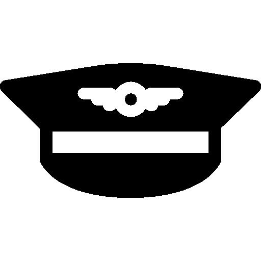 Pilot Hat  free icon