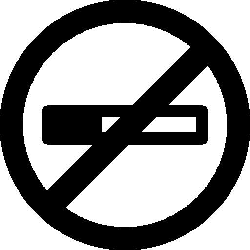 Знак не курить  бесплатно иконка
