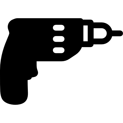 Wall Drill  free icon