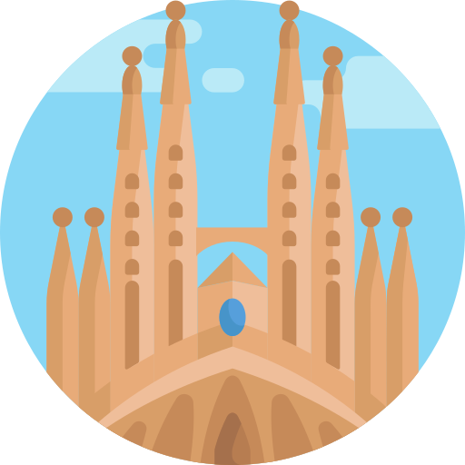 Sagrada familia  free icon