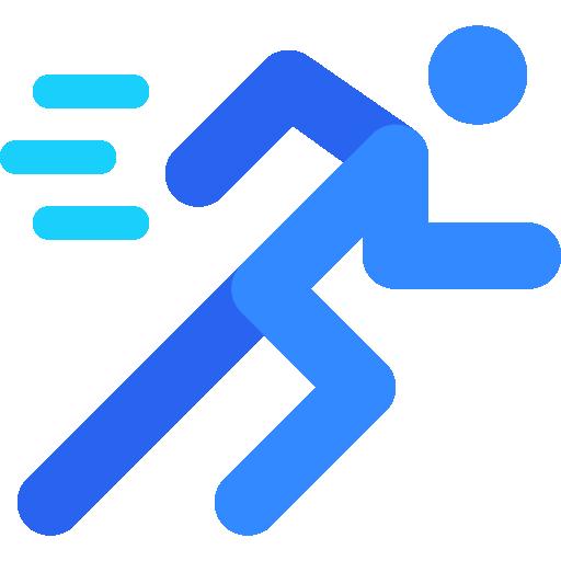 Running  free icon
