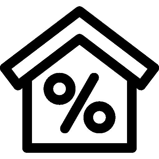 Mortgage  free icon