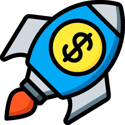 lanzamiento  icono gratis