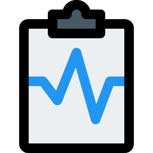 reporte de salud  icono gratis
