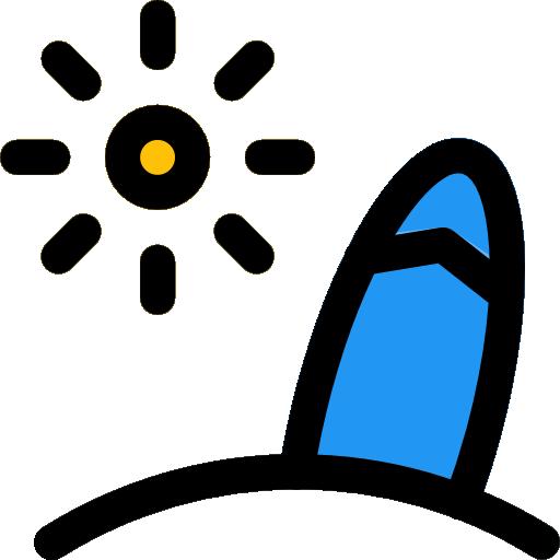 tabla de surf  icono gratis