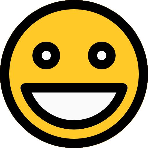 sonriendo  icono gratis